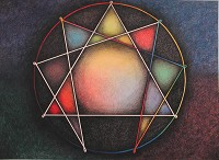 Colorful Enneagram
